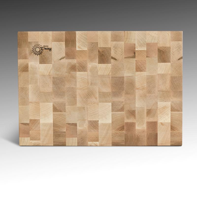 Planche à découper en érable récupéré (bois de bout) - 14 x 20 Grande