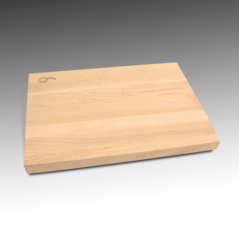 Cutting Board in maple wood strips