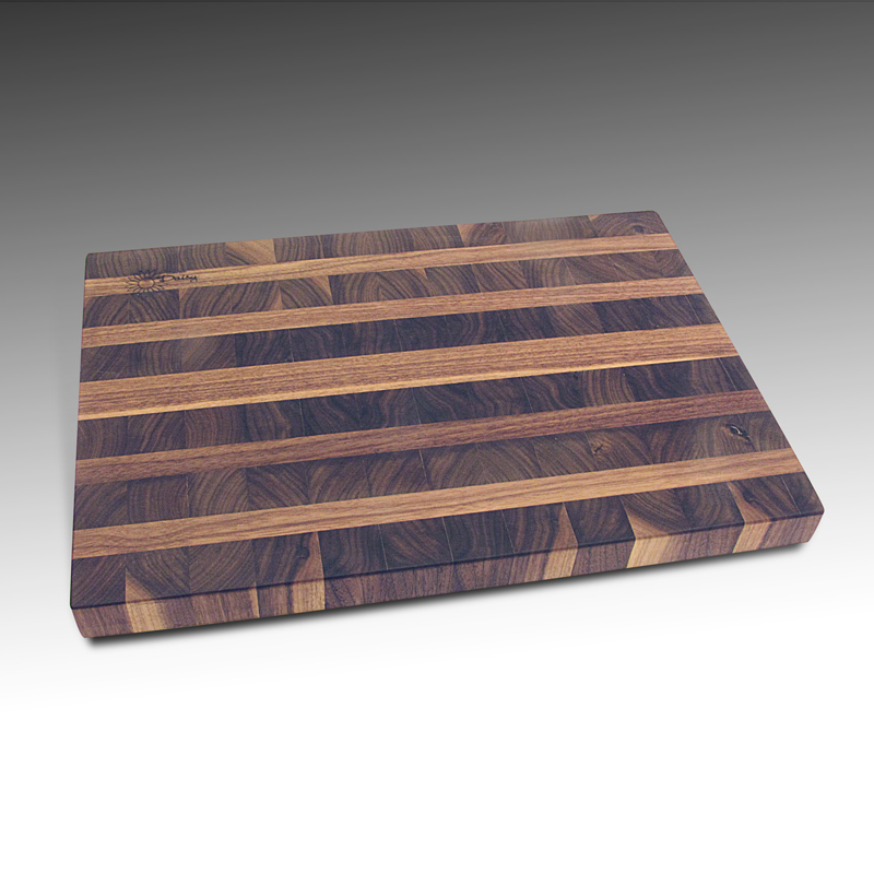 cutting board, made of hard walnut